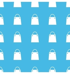 Shopping bag straight pattern vector image