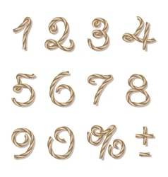Rope numbers vector