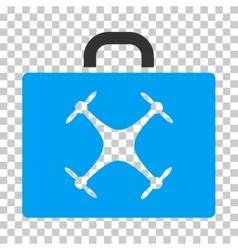 Drone case eps icon vector
