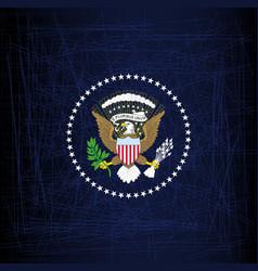 President seal eagle vector
