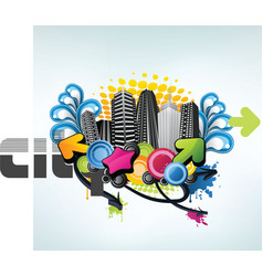 Party city design vector