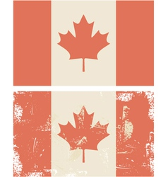 Candian flag vector