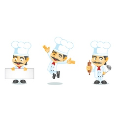 Chef 1 vector image vector image