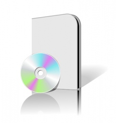 cd dvd box vector image