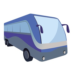 bus transit vector image vector image