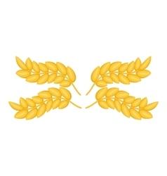 Ears pattern icon cartoon style vector