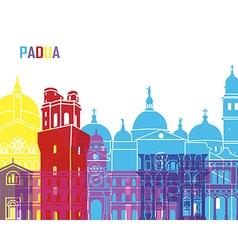 Padua skyline pop vector