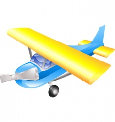 Aeroplane cartoon vector