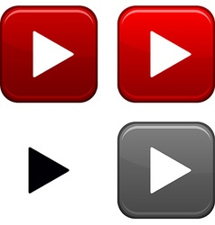 Play button vector