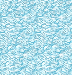 Seamless patterns waves and curls backgrounds vector