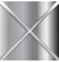 Abstract grey metallic background texture vector image