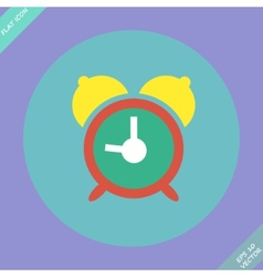 Alarm clock icon - vector image