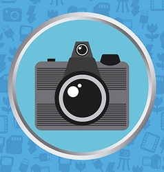 Photographic camera vector