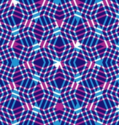 Geometric messy lined seamless pattern bright vector
