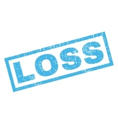 Loss rubber stamp vector