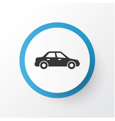 sedan icon symbol premium quality isolated vector image vector image