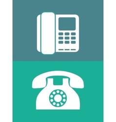 Telephone line communication vector