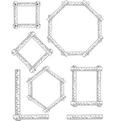 Birch frames vector