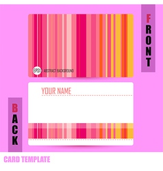 Modern Abstract colorful background template vector image