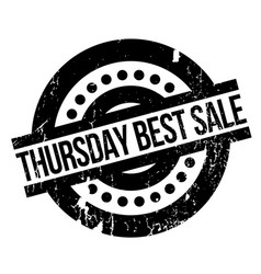 Thursday best sale rubber stamp vector