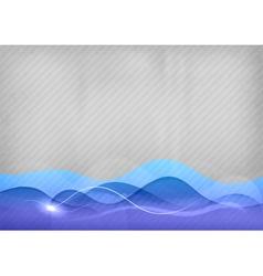 background blue wave vector image