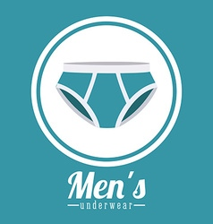 Underwear design vector