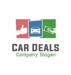 Car deals design vector