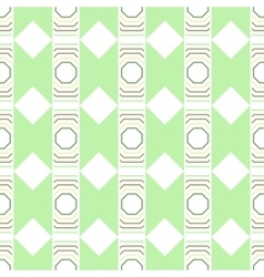 Seamless abstract geometric pattern decorative vector