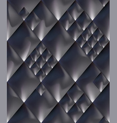 Abstract steel dark gray space metal seamless vector