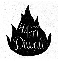 happy diwali celebration banner vector image vector image