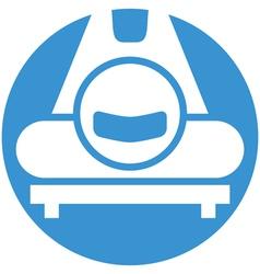Skeleton icon vector