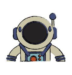 suit space astronaut image vector image