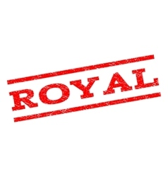Royal watermark stamp vector