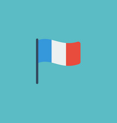 flat icon france element of vector image vector image