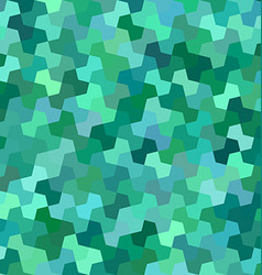 Green mosaic pattern background design vector