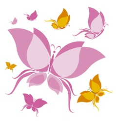 Butterfly design vector