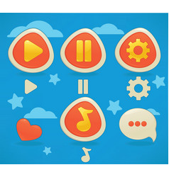 game design vector image