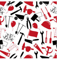 International worker day or labor day theme set vector