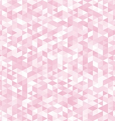 Pink triangles abstract geometric background vector