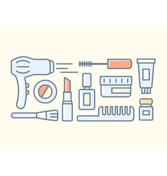 Tools for make-up vector
