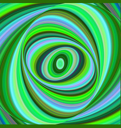 Multicolored ellipse fractal art background vector