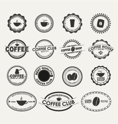 Coffee logo 2 vector