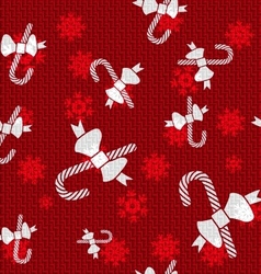 Christmas Candy Canes vector image vector image
