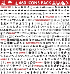 Icons megapack vector
