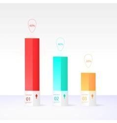 Modern box design minimal style vector image vector image