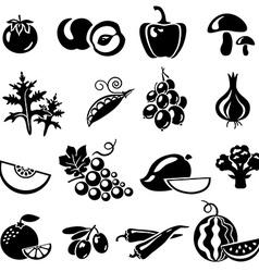 Vegetablesfruits vector