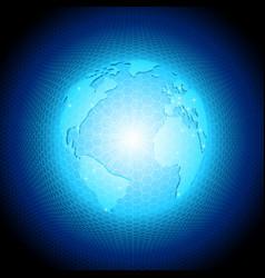 Consept globe vector