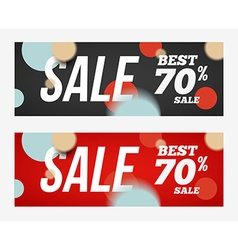 Best sale banner or offer design template sale vector
