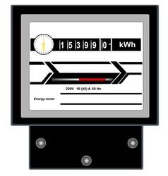 Energy meter 2 vector image