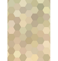 Abstract hexagon tile mosaic pattern background vector